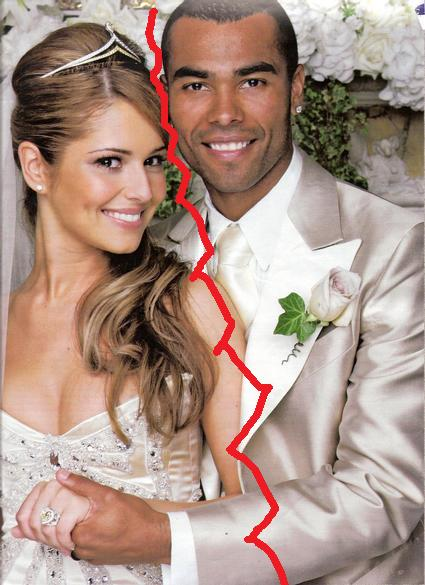 Cheryl cole and ashley cole wedding pictures
