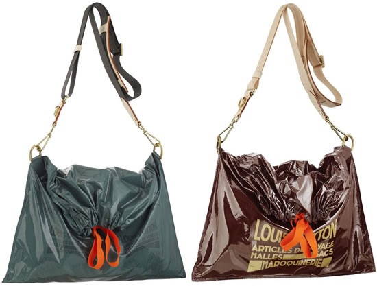 News flash louis vuitton sells garbage bag for 2000 for Louis vuitton bin bags